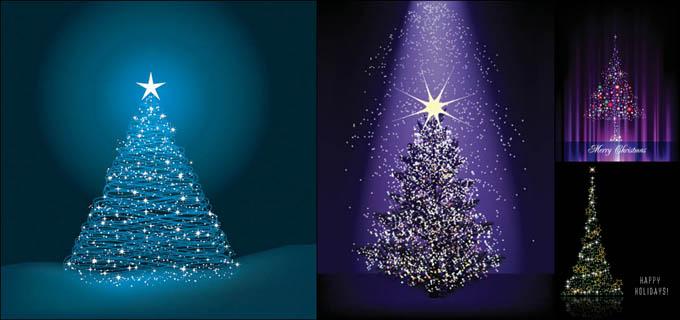圣诞素材圣诞节圣诞树雪花