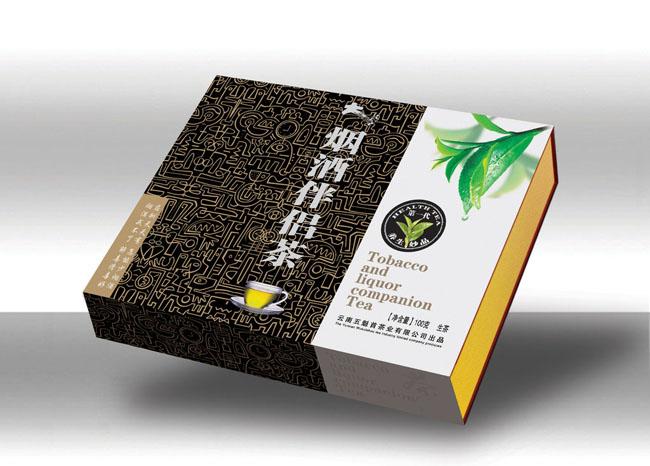 茶叶礼盒包装设计模板