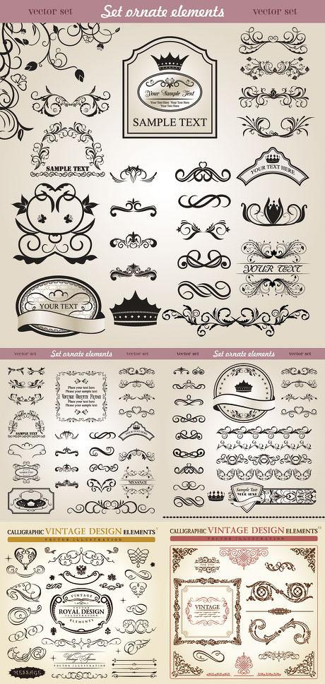 古典欧式汉字字体