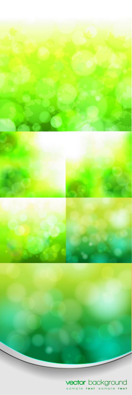 绿色淡雅背景矢量素材 - 爱图网设计图片素材下载
