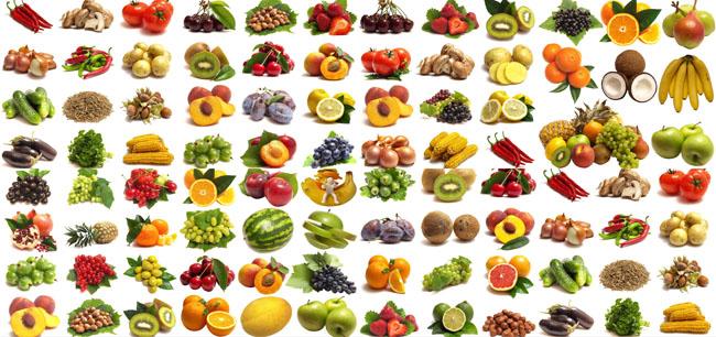 水果与蔬菜图片大全