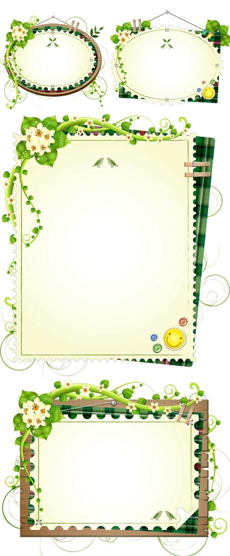 ppt 背景 背景图片 边框 模板 设计 相框 460_1110 竖版 竖屏