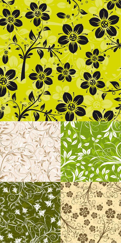 中国风服饰名片卡片设计矢量素材 时尚古典花纹矢量素材 古典吉祥花