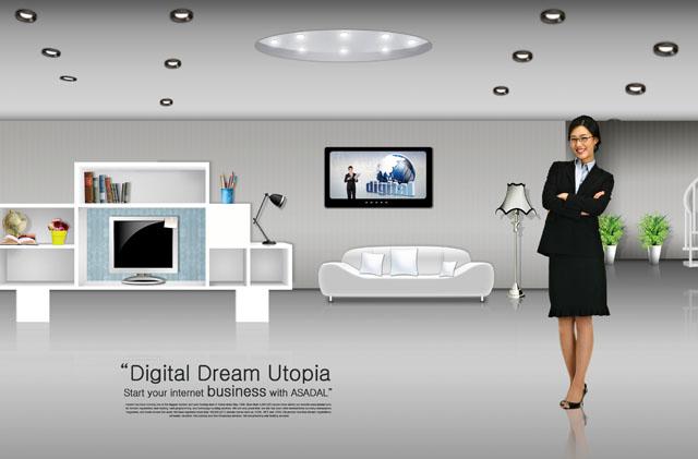 室内展示设计psd素材 - 爱图网设计图片素材下载