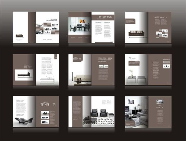 企业文化宣传招商画册宣传画册广告设计模板矢量素材矢量图库画册设计