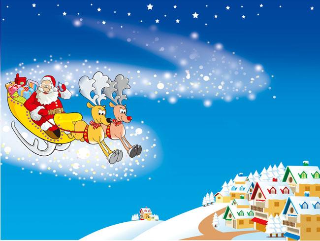 圣诞小装饰psd素材 圣诞节促销模板psd素材 圣诞嘉年华模板psd素材