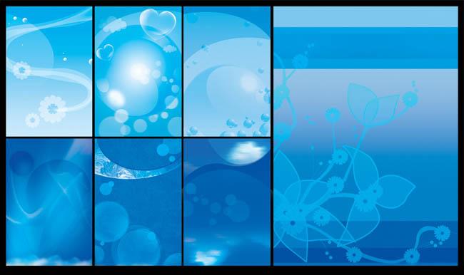 蓝调素材背景v素材psd海报-爱图网设计图片素材下载室内设计能赚钱图片