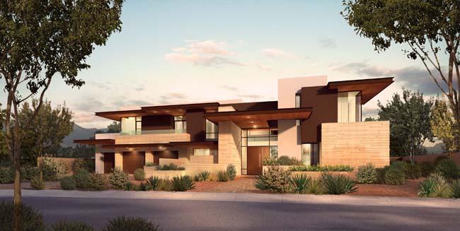 关键字: 别墅建筑风格建筑景观效果图环艺设计建筑设计建筑效果图大树