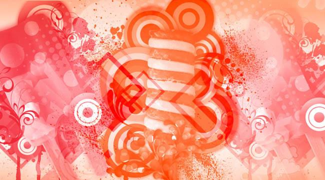 手绘昆虫ps笔刷素材 欧式花纹花边ps笔刷素材 复古蕾丝花边ps笔刷素材