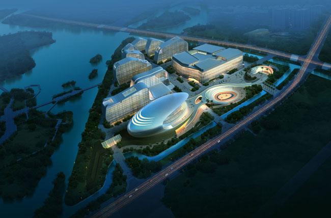 海边建筑别墅景观psd素材  关键字: 体育馆中心建筑效果景观绿化环艺