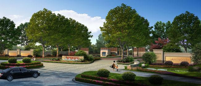 公路环境景观设计psd素材 建筑游泳池景观psd素材 园林景观小区环境