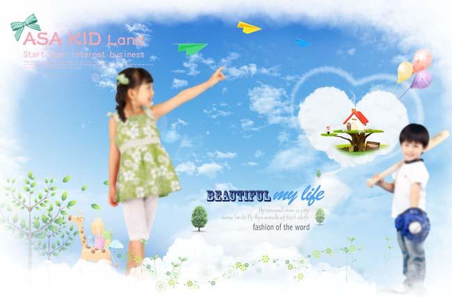 淘宝童装主图psd素材 爱图网设计图片素材下 高清图片