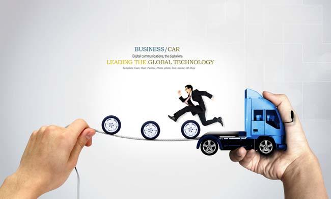创意商业广告设计psd素材图片